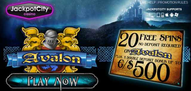 mobile casino free spins avalon
