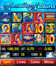Mermaids Millions mobile slot