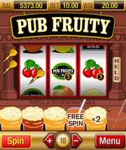 Pub Fruity mobile slot