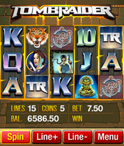 Tomb Raider  mobile slot